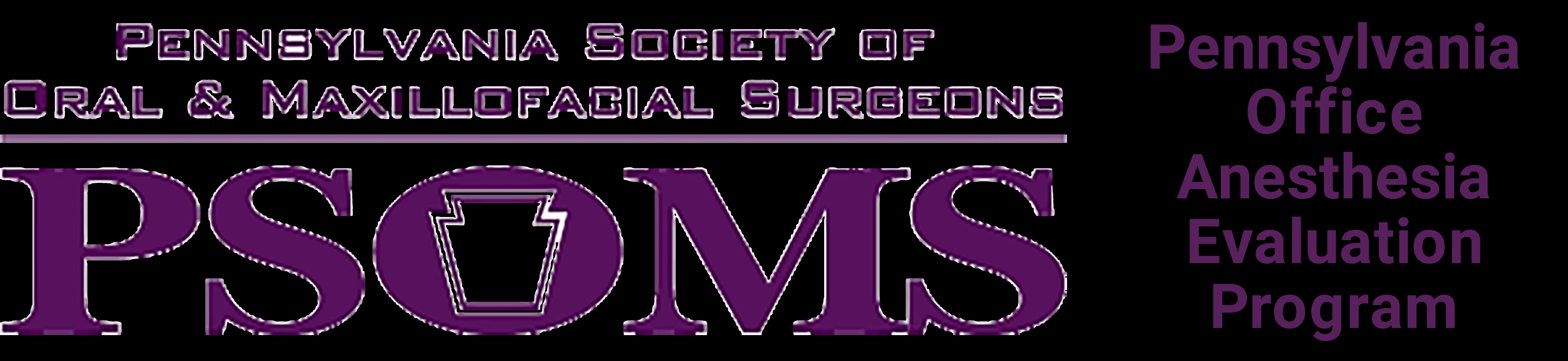 Pennsylvania Anesthesia Evaluation Program